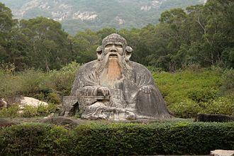 Laotzu-Statue in Quanzhou